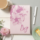 Butterfly Fabric Notebook
