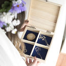 Something Old Four Compartment Keepsake Box