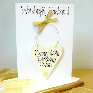 Husband's Personalised Birthday Card - birthday cards