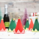 Christmas Mini Elf Party Hats
