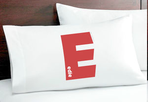 Personalised Pillow Case - bedding & accessories
