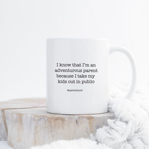 'Adventurous Parent' Mug