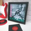 The Clash Original Framed Album Covers