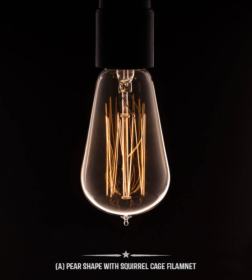 Vintage Light Bulb By Dowsing Reynolds