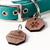 Personalised Paw Pet Tag - pets