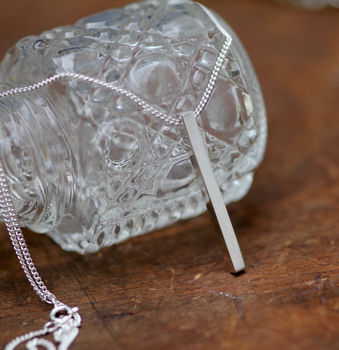 Silver Bolt Necklace