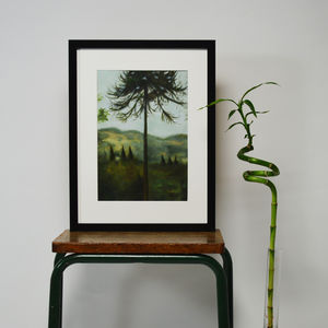 Chatsworth Tree Original Oil Painting