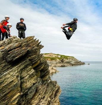 Surf, Coasteer And Wildcamp In Cornwall