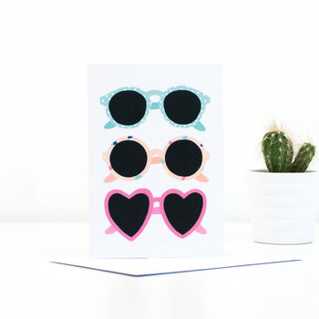 'Sunglasses' Greeting Card