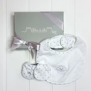 Unisex French Designer Two Piece Baby Shower Gift