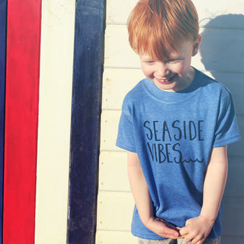 Summer 'Seaside Vibes' Childrens T Shirt