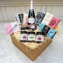 'Superstar Mama' Deluxe Hamper With Sparkling Wine