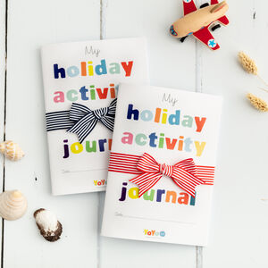 Kids Holiday Activity Journal