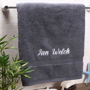 a9958bdc11 Personalised Towels | notonthehighstreet.com