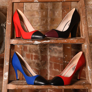 Borough Mid Heeled Court Shoes
