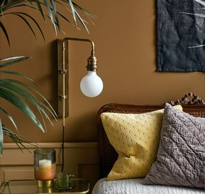 Brass Angled Wall Light