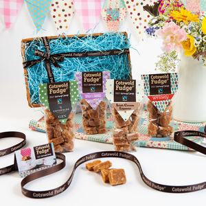 Boozy Fudge Hamper - hampers