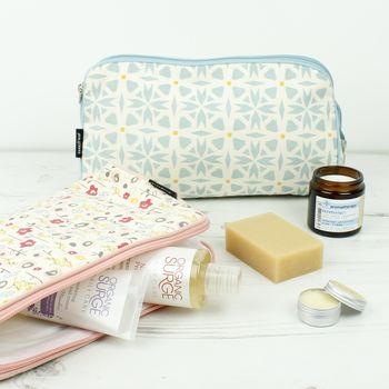 Organic Cotton Toiletry Bags