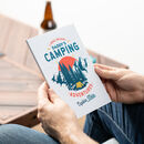 Personalised Camping Journal Notebook