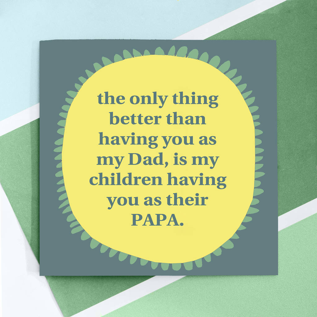 personalised happy birthday daddy card by rabal – Happy Birthday Dad Card