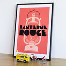 Art Deco Cycling Print 'Lanterne Rouge'