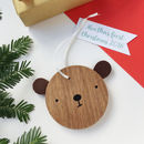 First Christmas Grumpy Bear Decoration
