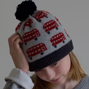 Lambswool London Bus Hat