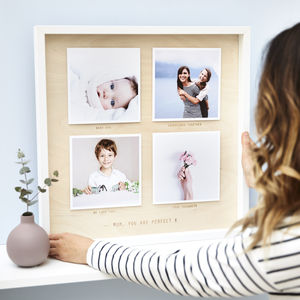 Personalised Wooden Framed Photo Print - shop by subject