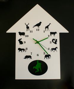Animalask Clock