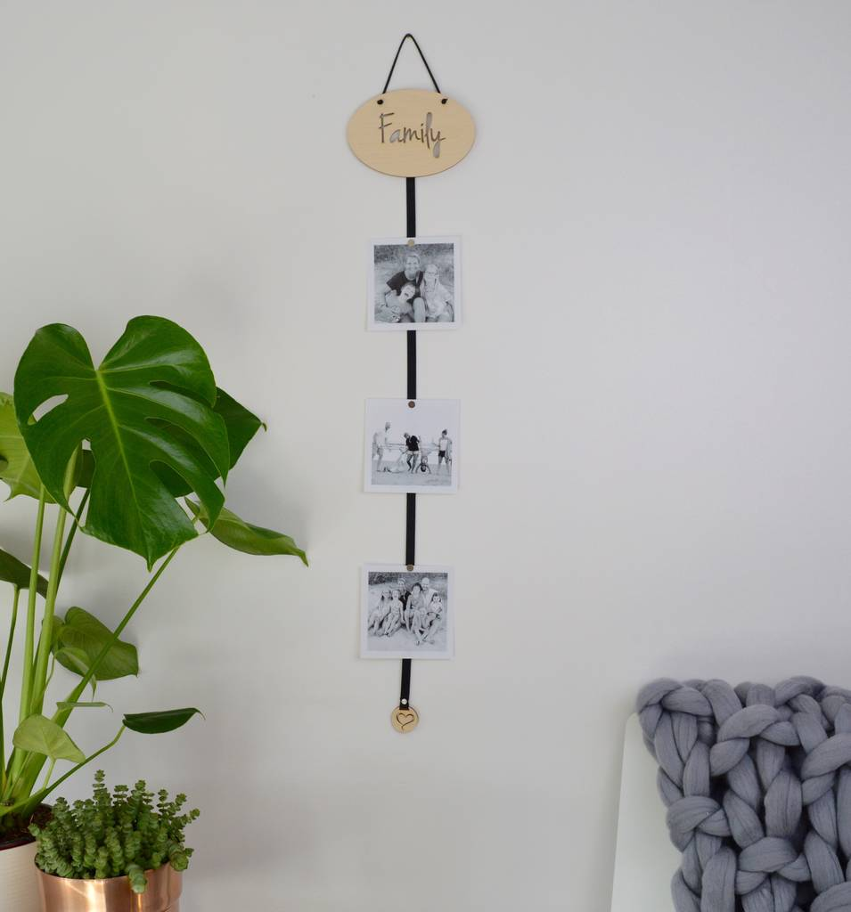You And Me Photo Frame Holder By Not A Jewellery Box