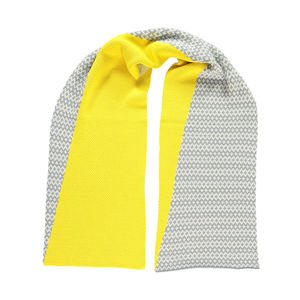 Asymmetric Scarf Yellow