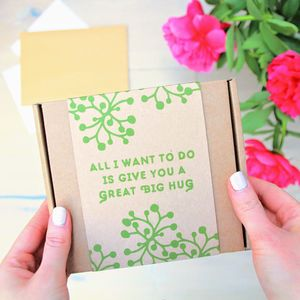 'Great Big Hug' Face Mask Kit - 'thinking of you' gifts