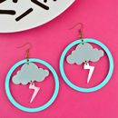 Storm Hoop Earrings