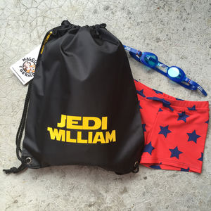 Personalised Jedi Bag - bags, purses & wallets