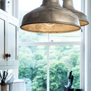 Industrial Galvanised Pendant Light