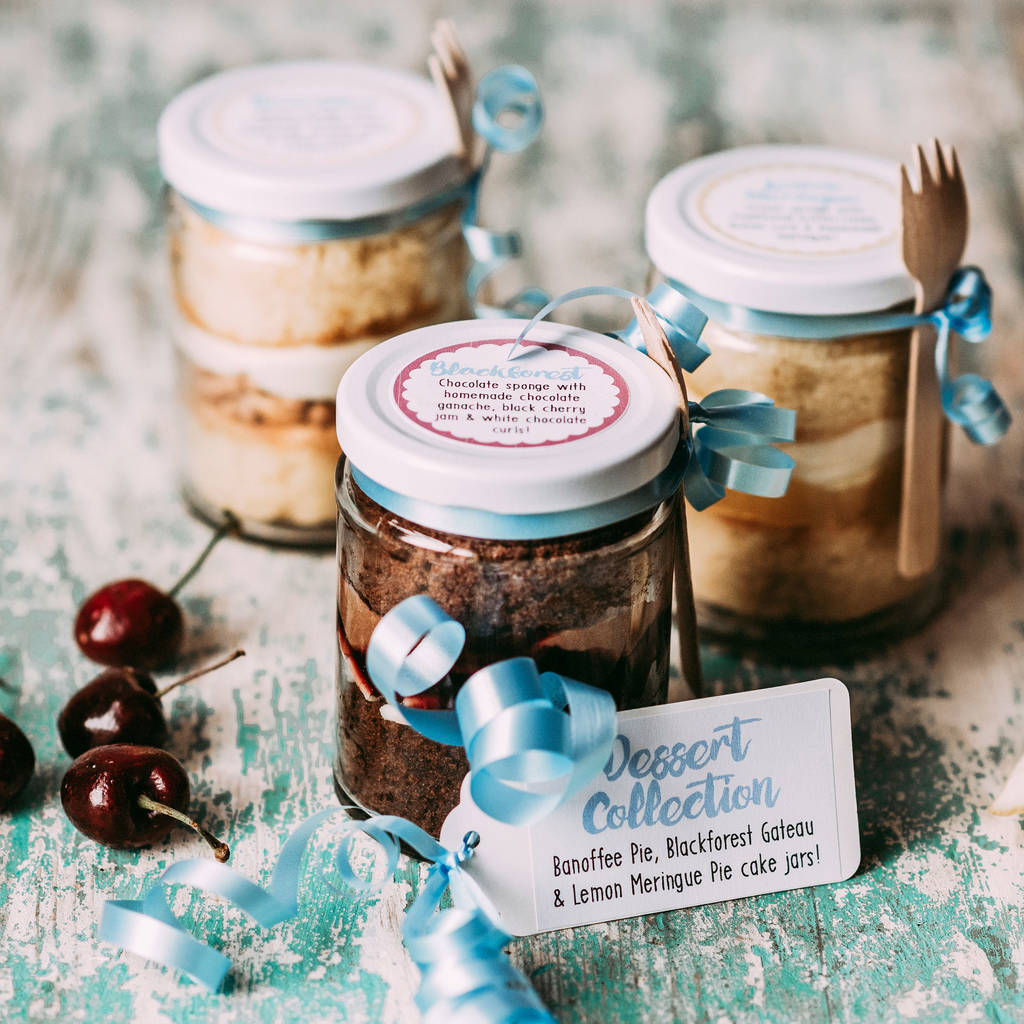 Dessert Cake Jar Collection By Frostbite Bakery