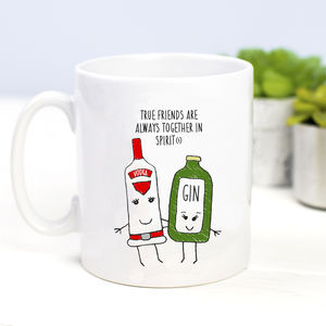 'Together In Spirits' Friendship Mug