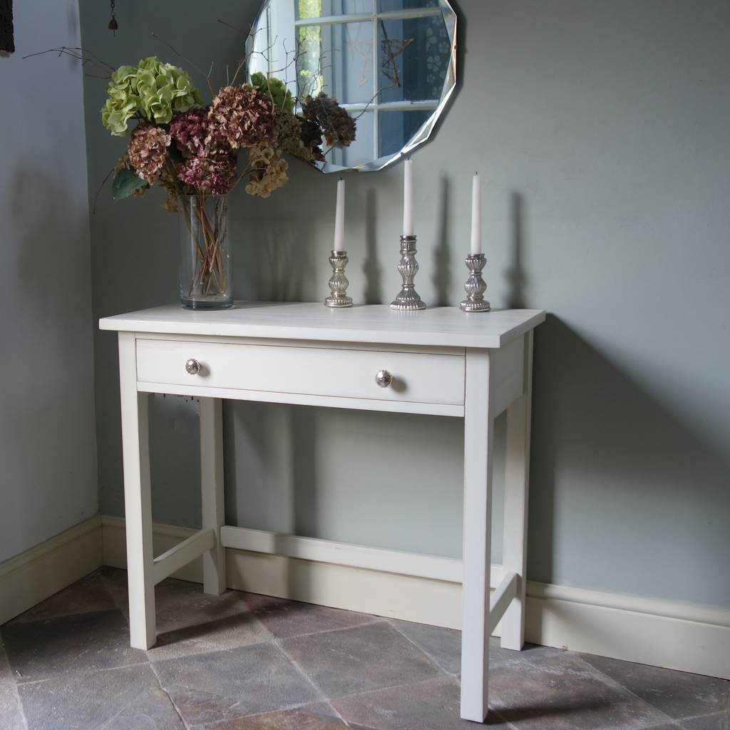 Hall/Console Table In Any Colour And Size Hand Painted