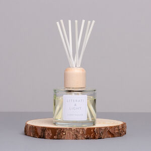 Lighthouse Sea Salt And Driftwood Luxury Reed Diffuser