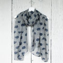 Little Hedgehogs Print Scarf