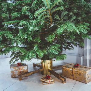 Gold Metal Christmas Tree Stand