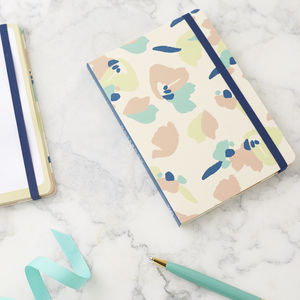 Floral Patterned Notebook