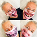 Reusable Face Mask Fun And Silly Designs Adjustable