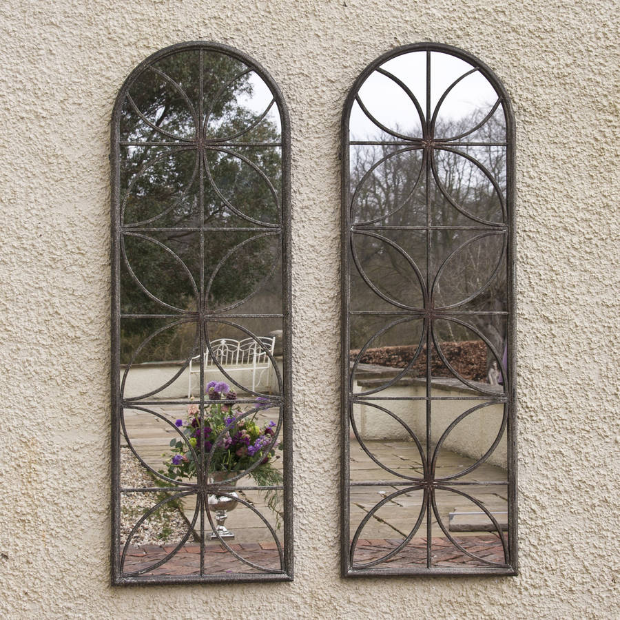 petal garden mirror by decorative mirrors online ...