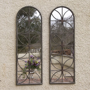 Sale: Was £158 Now £130 Petal Garden Mirror - mirrors