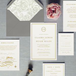 Buckingham Wedding Invitation - invitations