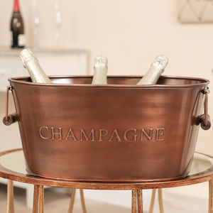 When Only The Best Will Do Champagne Bottle Cooler