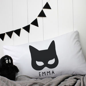 Personalised 'Catwoman' Pillowcase - bedding & accessories