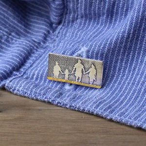 Dad's Family On The Beach Cufflinks - cufflinks