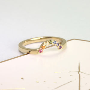 Rainbow Ring - jewellery